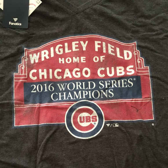 68d7d8d9 Fanatics Shirts | Nwt Chicago Cub World Champ Tshirt Baseball | Poshmark